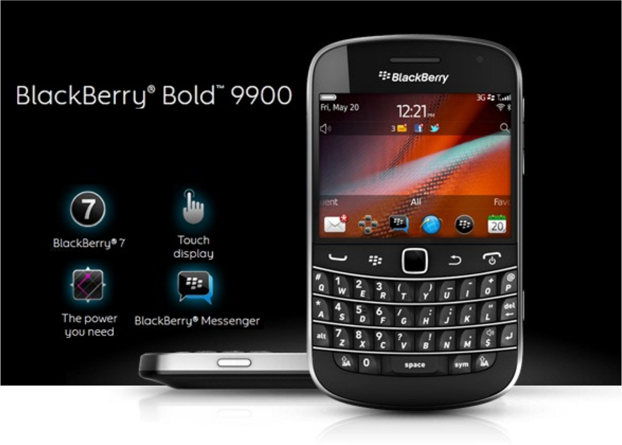 Blackberry Bold 9900 nhaphangali