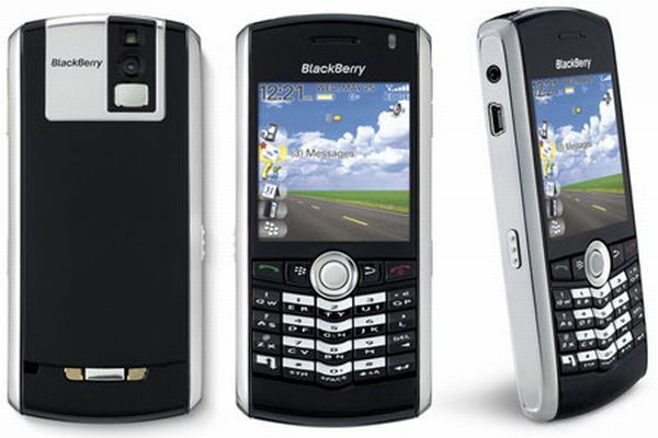 Blackberry Pearl 8100 nhaphangali